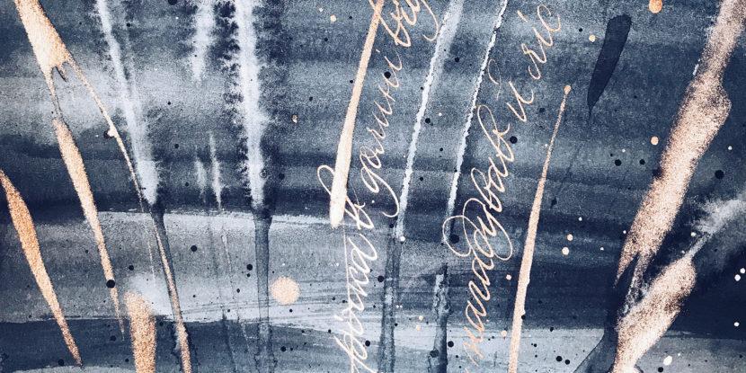 Calligraphy Karpaty 2017
