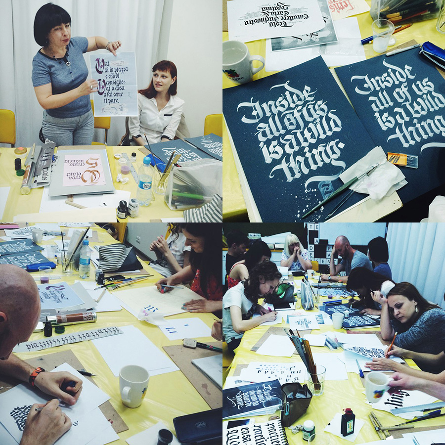 Gothic Calligraphy Workshop